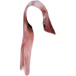 Pink Hair PNG