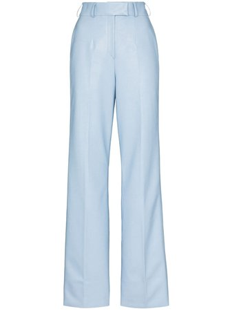 ANOUKI Tailored straight-leg Trousers - Farfetch