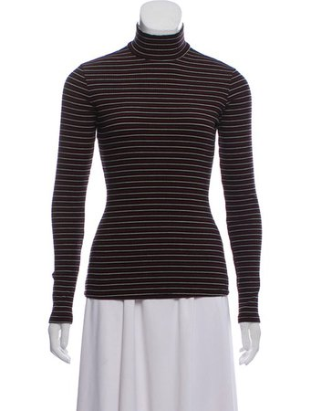 Reformation Striped Long Sleeve Top - Clothing - WRFMN27922 | The RealReal