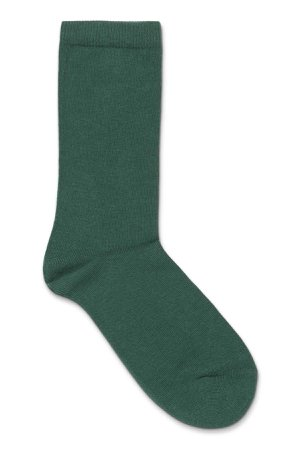 Feet Socks - Dark Green - Socks - Weekday GB