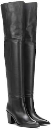 Daenerys leather over-the-knee boots