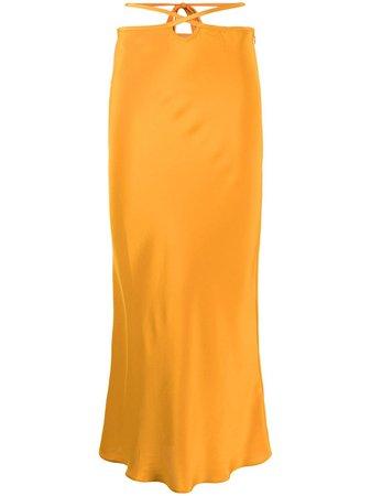 Christopher Esber cut-out Tie Skirt - Farfetch