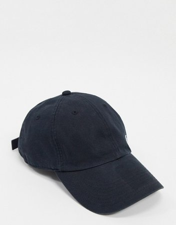 Nike Swoosh cap in black | ASOS