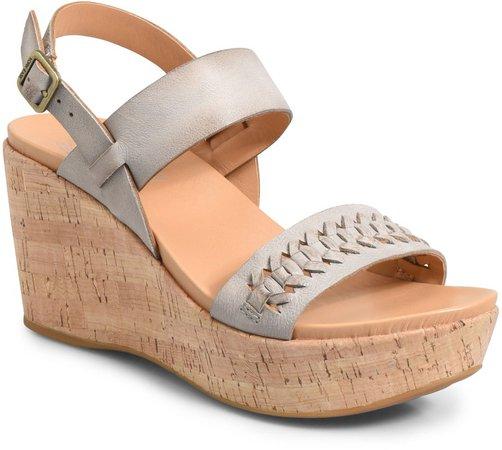Austin Braid Wedge Sandal