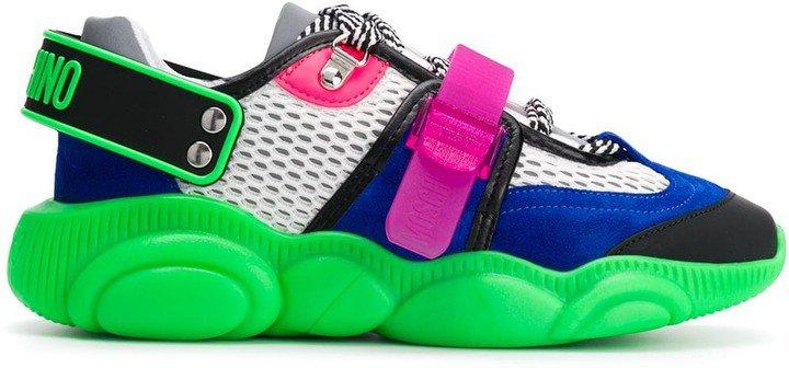 Fluo Teddy sneakers