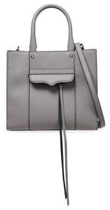 Mini M.a.b. Textured-leather Tote