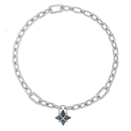 Orion Star Chain Necklace - Dark Grey | All We Are | Wolf & Badger