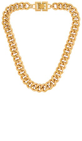 GOLDMINE Chunky Chain Necklace in Gold | REVOLVE