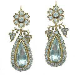 Diamond, Antique and Vintage Earrings - 16,053 For Sale at 1stdibs