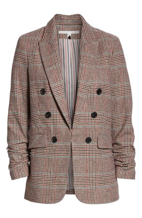 Veronica Beard Beacon Glen Plaid Dickey Jacket (Nordstrom Exclusive) | Nordstrom