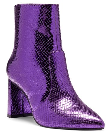 purple INC International Concepts I.N.C. Women's Anila Booties, Created for Macy's & Reviews - Boots - Shoes - Macy's