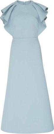 Ruffled Tea Dress