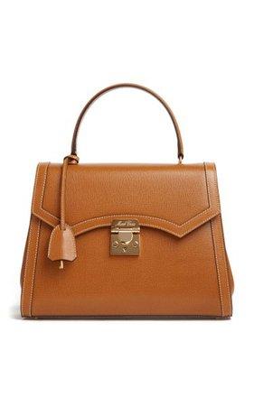 Madeline Lady Leather Top Handle Bag By Mark Cross | Moda Operandi