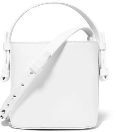Nico Giani - Adenia Mini Leather Bucket Bag - White