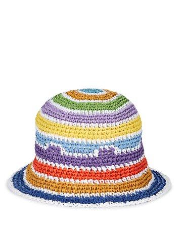 Openweave Raffia Bucket Hat