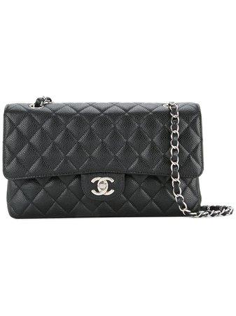 Chanel Vintage Double Flap Shoulder Bag - Farfetch