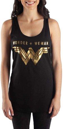 Amazon.com: DC Comics Wonder Woman Juniors' Racerback Tank Top-X-Large: Clothing