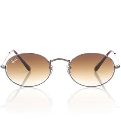 Rb3547N Oval Flat Sunglasses - Ray-Ban | mytheresa.com