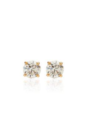 RENNA 18K Gold Diamond Earrings