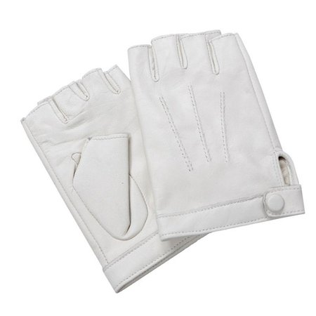 fingerless white leather gloves - Pesquisa Google