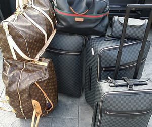 Image about Louis Vuitton in Airport by Polina