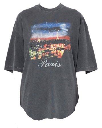 Oversize t-shirt Paris
