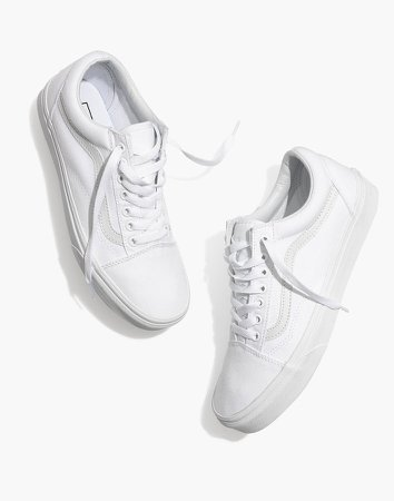 Vans Unisex Old Skool Lace-Up Sneakers in Canvas and Suede