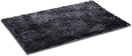 Amazon.com: Internet's Best Microfiber Chenille Bath Mat - Non Slip Bathroom Rug - Soft Absorbent Carpet - Fast Drying Shower (34 x 20, Cream): Home & Kitchen