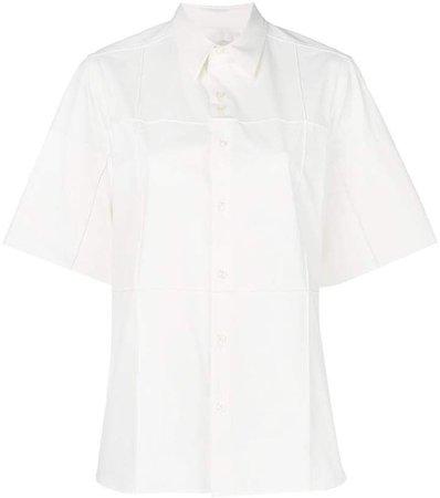 photo print shortsleeved shirt