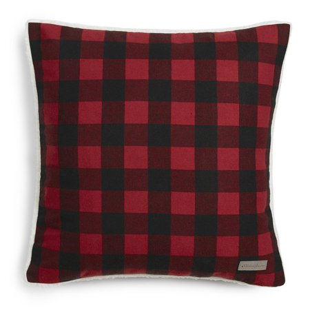 Eddie Bauer Cabin Plaid Flannel Cotton Throw Pillow & Reviews | Wayfair