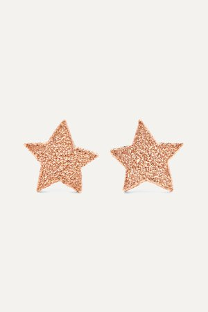 Rose gold Superstellar 18-karat rose gold earrings | Carolina Bucci | NET-A-PORTER