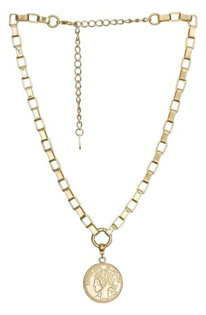 Ettika Coin Pendant Necklace | Nordstrom