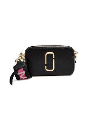 Snapshot Leather Shoulder Bag Gr. One Size