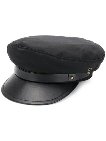 Dsquared2 leather detail beret
