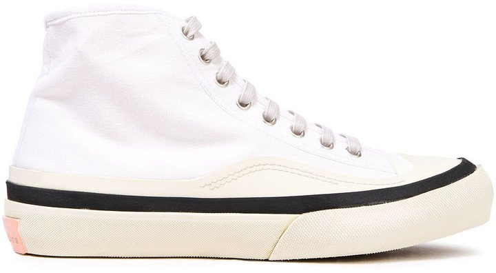 Cotton-canvas High-top Sneakers