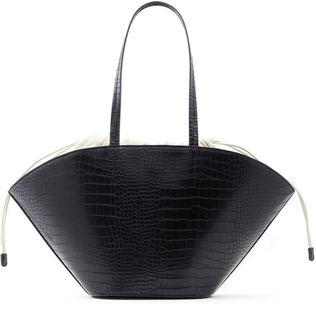 Kory Faux Leather Tote