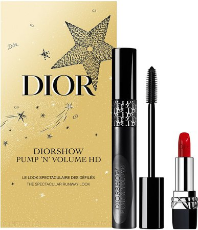 Pump 'N' Volume Mascara & Lipstick Set