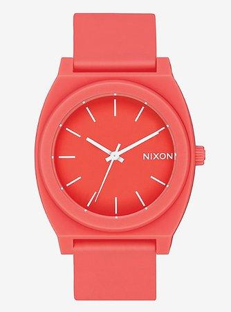 Nixon Time Teller P Matte Coral Watch