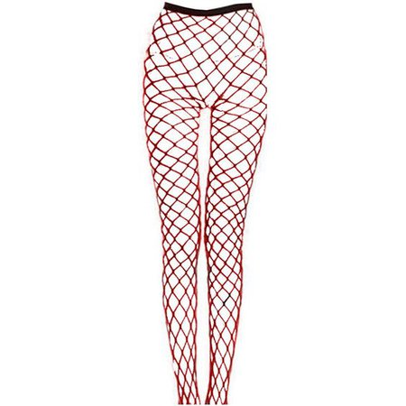 red fishnet