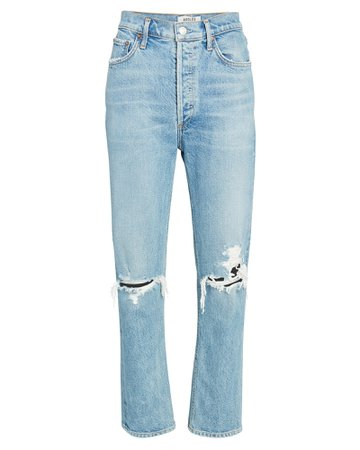 AGOLDE 90s Fitted Straight-Leg Jeans | INTERMIX®