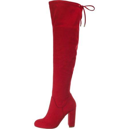 BUFFALO, Klassische Stiefel, rot | mirapodo