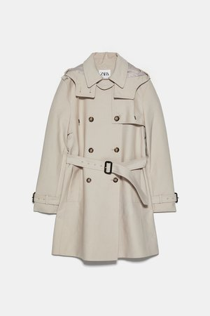 TRENCH WATER REPELLENT | ZARA España