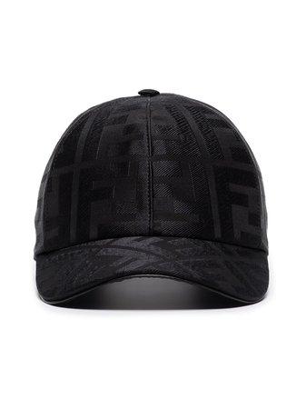 Fendi logo-jacquard Baseball Cap - Farfetch