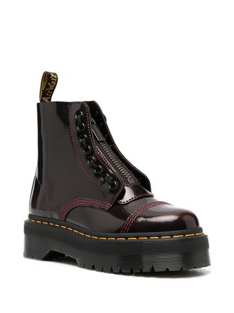 Dr. Martens Gloss lace-up Ankle Boots - Farfetch