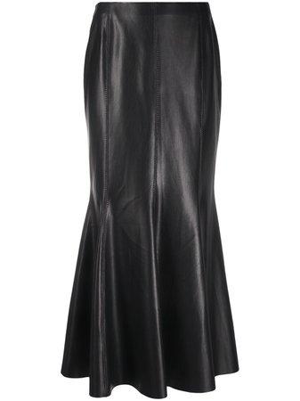 Nanushka vegan leather maxi-skirt - FARFETCH