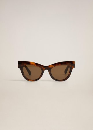 Acetate frame sunglasses - Woman | Mango