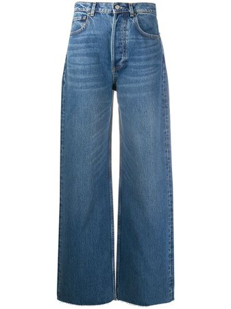 BOYISH DENIM Denim Wide Leg Jeans - Farfetch