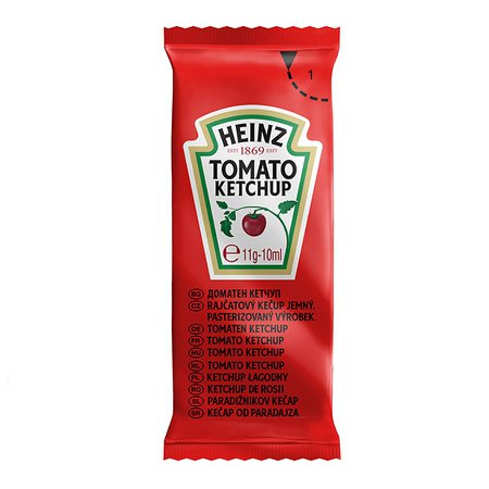 Heinz Tomato Ketchup Sachets - Condiments and Food Preparations