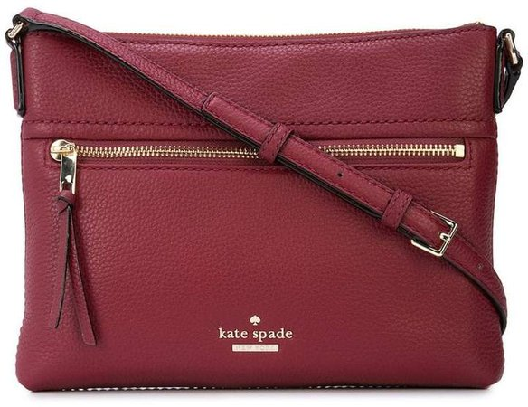 top zipped crossbody bag