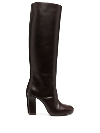 Lemaire heeled leather boots - FARFETCH